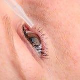 Tratamento do olho fotografia de stock royalty free