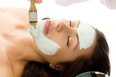 Tratamento do salão de beleza Fotografia de Stock Royalty Free
