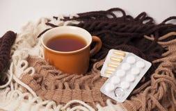 Tratamento frio em casa Fotos de Stock Royalty Free
