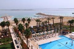 Tratamentos da água no Mar Morto. Foto de Stock