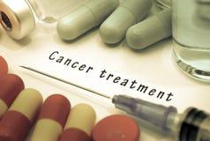 Tratamiento contra el cáncer fotografía de archivo libre de regalías