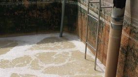 Tratamiento de aguas del despilfarrador en fábrica de la fabricación de la comida metrajes