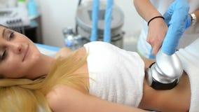 Tratamiento de la cavitación almacen de metraje de vídeo