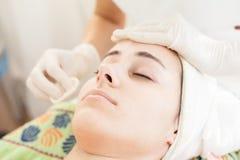 Tratamiento de la piel Imagen de archivo libre de regalías