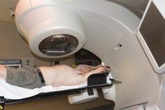 Tratamiento de la radioterapia Foto de archivo libre de regalías