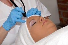 Tratamiento de Skincare en el balneario del día Fotografía de archivo