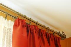 Tratamiento de ventana de la sala de estar Imagen de archivo libre de regalías
