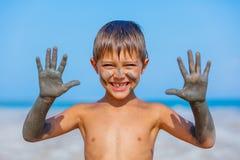 Tratamiento del baño de fango del mar muerto Imagen de archivo