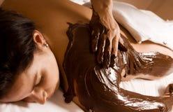 Tratamiento del chocolate Foto de archivo libre de regalías