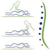 Tratamiento del masaje Fotografía de archivo libre de regalías