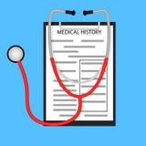 Tratamiento en concepto del hospital libre illustration
