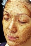 Tratamiento facial imágenes de archivo libres de regalías