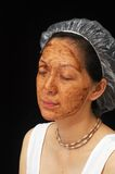 Tratamiento facial imagen de archivo