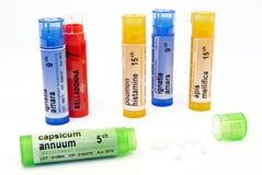 Tratamiento homeopático Imagen de archivo libre de regalías