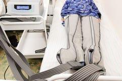 Tratamiento hospitalario Fotografía de archivo libre de regalías