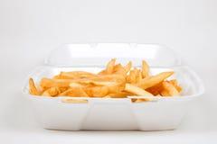 Tratamiento por lotes de patatas fritas Fotografía de archivo