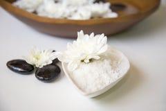 Tratamiento y producto del balneario para los pies y el balneario femeninos de la mano, Tailandia foco selecto y suave Imagen de archivo