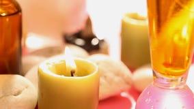 Tratamientos del balneario del Aromatherapy almacen de video