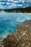 Tratar la piscina con vapor hythermal Foto de archivo libre de regalías