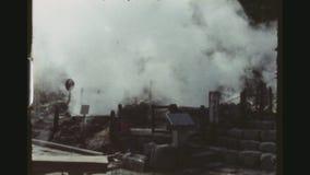 Tratar los resortes con vapor calientes