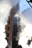 Tratar Nueva York con vapor Foto de archivo libre de regalías
