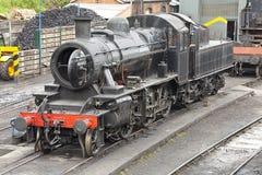 Trate el tren con vapor Imagen de archivo