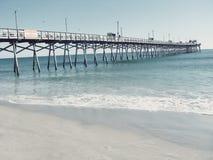Trate las ondas con suavidad Fotos de archivo