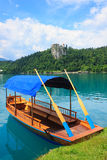 Tratidional Slovenian Boat Stock Images
