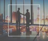 Trato Collaborati del éxito del saludo del acuerdo del negocio del apretón de manos imagen de archivo libre de regalías