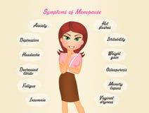 Trato con menopausia Imágenes de archivo libres de regalías