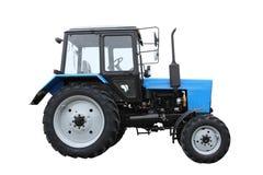 Trator azul Imagem de Stock