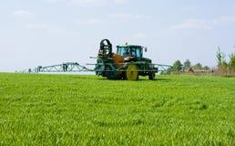 Trator de cultivo Imagem de Stock Royalty Free