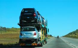 Trator de estrada Foto de Stock Royalty Free