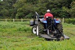 Trator de exploração agrícola Fotografia de Stock Royalty Free