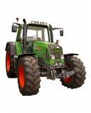 Trator de exploração agrícola verde fotos de stock royalty free