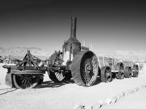 Trator do vapor, angra da fornalha, parque nacional de Vale da Morte, Califórnia, EUA Imagem de Stock