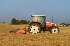 Trator no campo Imagem de Stock Royalty Free