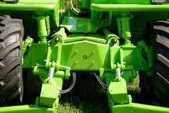 Trator verde Foto de Stock Royalty Free