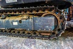 Tratores de aço da roda Fotografia de Stock