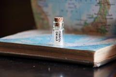 Tratos del viaje Imagen de archivo libre de regalías