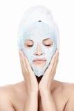 Trattamento cosmetico Fotografia Stock Libera da Diritti