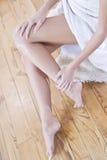 Trattamento del piedino Fotografia Stock Libera da Diritti