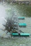 Trattamento del turbinewater dell'aeratore Fotografia Stock Libera da Diritti