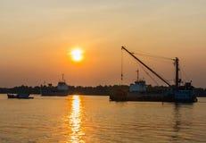Trattamento della barca. Fotografia Stock