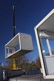 Trattamento della casa mobile Immagine Stock