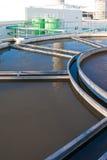 Trattamento delle acque di Wast Fotografie Stock Libere da Diritti
