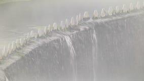 Trattamento delle acque reflue in impianti di trattamento delle acque reflue video d archivio