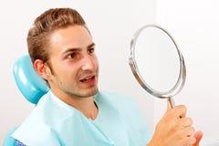 Trattamento dentale fotografie stock libere da diritti