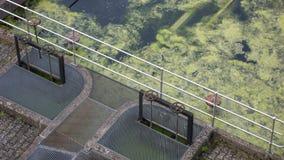 Trattamento di acqua di scarico Immagini Stock Libere da Diritti