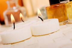 Trattamento di Aromatherapy Immagini Stock